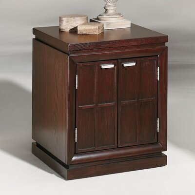 Cheap Hammary Kanson Commode in Oxblood (HAM1397)