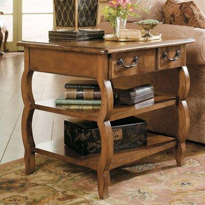 Cheap Hammary Siena Rectangular Storage End Table in Tuscany (HAM1494)