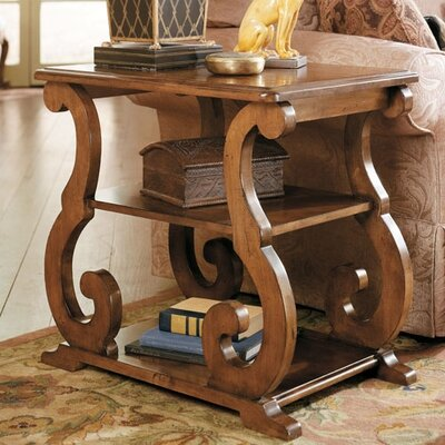 Cheap Hammary Siena Chairside Table in Tuscany (HAM1495)