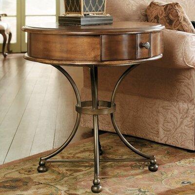 Cheap Hammary Siena Round Storage End Table in Tuscany (HAM1499)