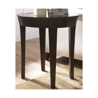 Cheap Hammary Urban Flair Oval End Table in Umber Finish (HAM2023)