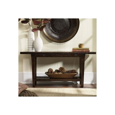 Cheap Hammary Urban Flair Flip Top Console in Umber Finish (HAM2033)