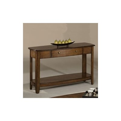 Cheap Hammary Primo Sofa Table in Warm Medium Brown Finish (HAM2042)