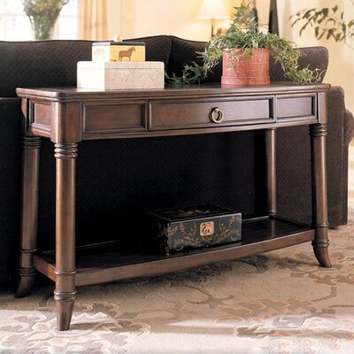 Cheap Hammary Magellan Console Table in Rich Chocolate Finish (HAM2526)