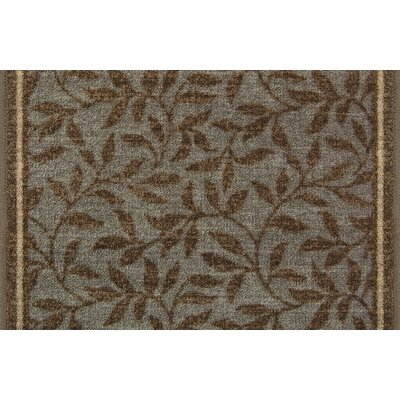 Willow Brown/Gray Area Rug Rug Size: 22 x 510