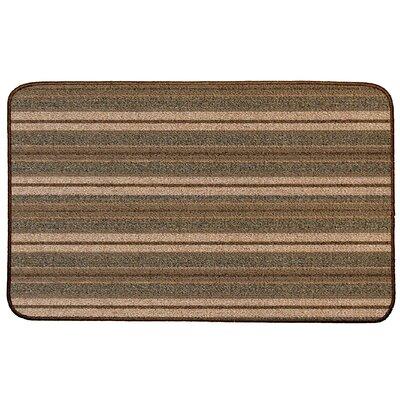 Stripe Broadway Doormat Rug Size: 2 x 3