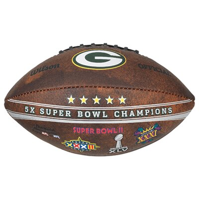 Gulf Coast Sales NFL Commemorative Championship Football - NFL Team: Green Bay Packers at Sears.com