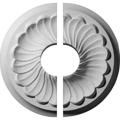 Flower Spiral Ceiling Medallion