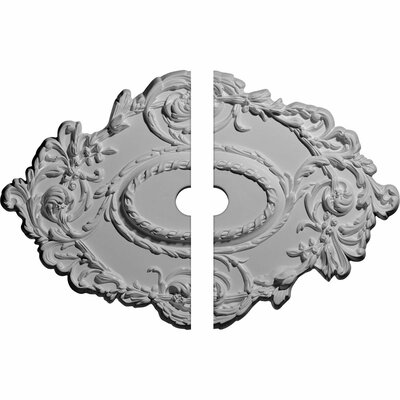 Lincoln Kinsley Flowing Leaf Ceiling Medallion