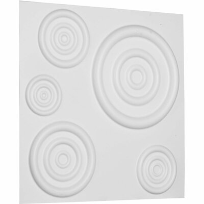 Reece 19.63 x 19.63 Mosaic Tile in White