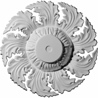 Needham 14.63H x 14.63W x 2.25D Ceiling Medallion