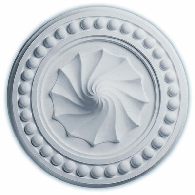 Foster Shell 15.75H x 15.75W x 2D Ceiling Medallion