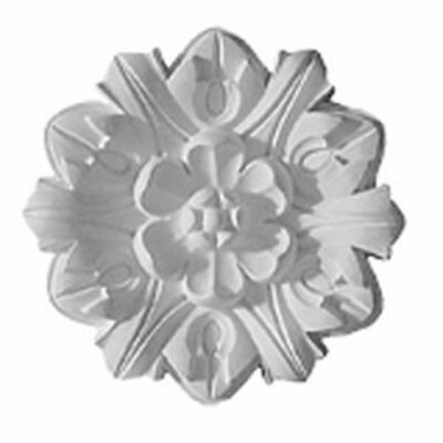 Emery Leaf 7.63H x 7.63W x 1D Ceiling Medallion