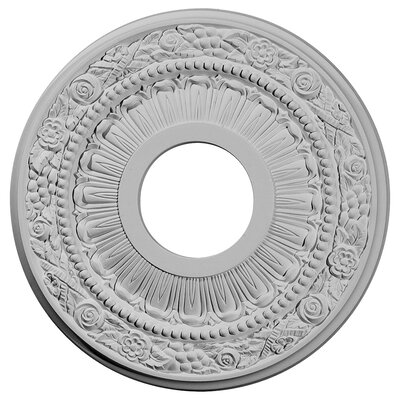 Nadia 12.13H x 12.13W x 0.88D Ceiling Medallion