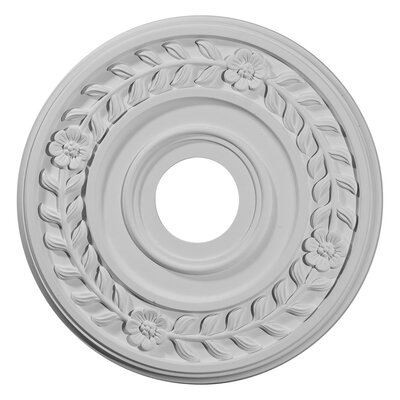 Wreath 16.25H x 16.25W x 1D Ceiling Medallion