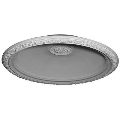 """Ekena Millwork Floral 59"""" H x 59"""" W x 11"""" D Recessed Mount Ceiling Dome at Sears.com"""