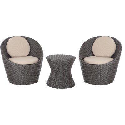 Bella Bollo 3 Piece Bistro Set