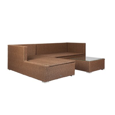 Tristano Sectional with Cushions