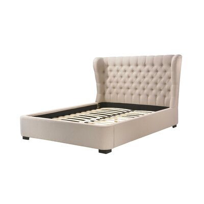 Upholstered Platform Bed Size: King, Upholstery: Palazzo Mist
