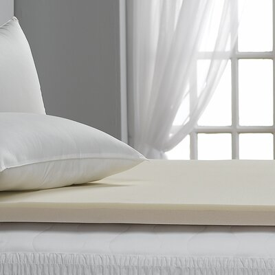 Beautyrest 2 Memory Foam Mattress Topper Size: Twin