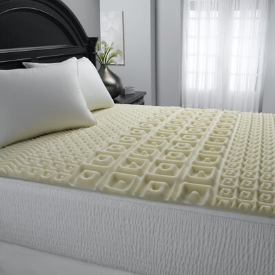 5 Zone Contour Comfort 2 Polyurethane Mattress Topper Size: Queen