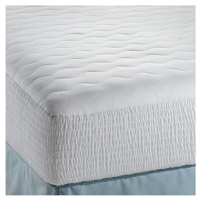 200 Thread Count Cotton Down Alternative Dream Loft Mattress Pad Size: Full