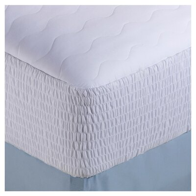Cotton & Polyester Blend Mattress Pad Size: California King