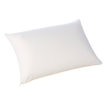 Bed Talalay Foam Pillow Size: King