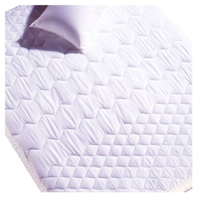 Miles Cotton Mattress Pad Size: Twin