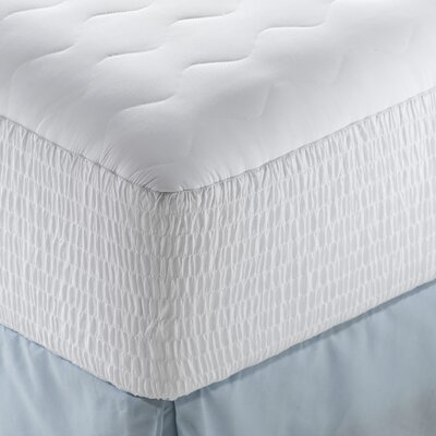 Microfiber Highloft Top Mattress Pad Size: Queen