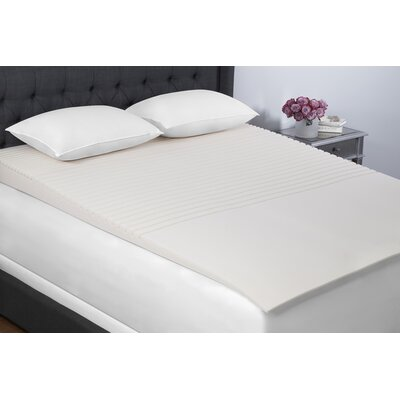 Geo Incline 5.5 Memory Foam Mattress Topper Size: Full