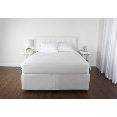 Ultra Comfort Polyester Mattress Pad Size: Twin