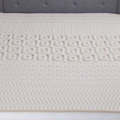5 Zone Contour Comfort 2 Polyurethane Mattress Topper Size: Full