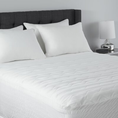 Prima Polyester Mattress Pad Size: Twin