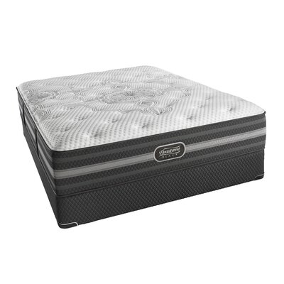 "Beautyrest Black Desiree 13"" Plush Innerspring Mattress and Box Spring Mattress Size: California King, Box Spring Height: Low Profile"