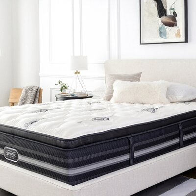 "Beautyrest Black Sonya 18"" Firm Pillow Top Mattress and Box Spring Mattress Size: Queen, Box Spring Height: Low Profile"