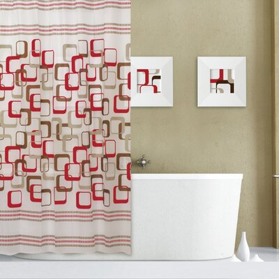 Abstract Shower Curtain Set