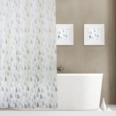 Raindrops 13 Piece Shower Curtain Set