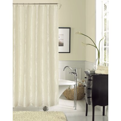 Breeze Shower Curtain Color: Ivory