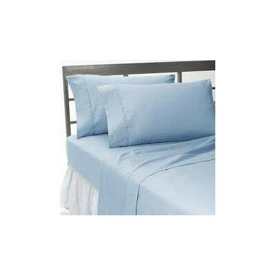 Solid Pillow Sham Color: Blue