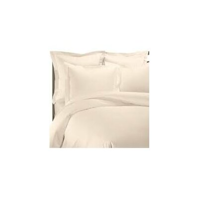 Solid Pillow Sham Color: Beige