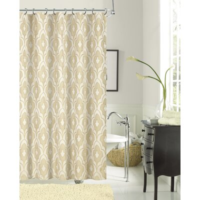 Pflugerville Shower Curtain Color: Taupe