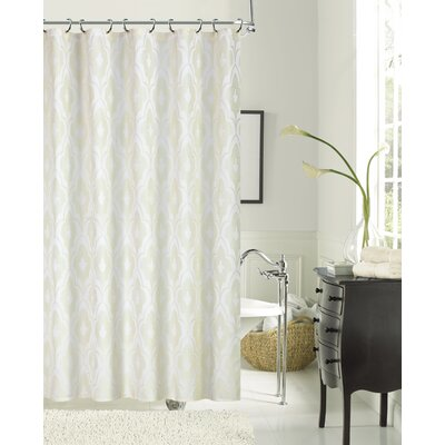 Pflugerville Shower Curtain Color: Ivory