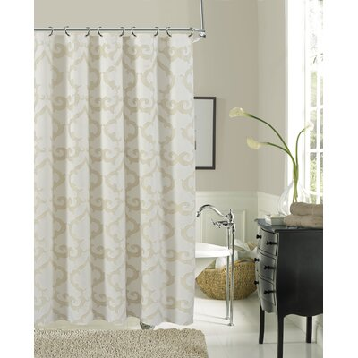 Luxembourg Shower Curtain Color: Ivory