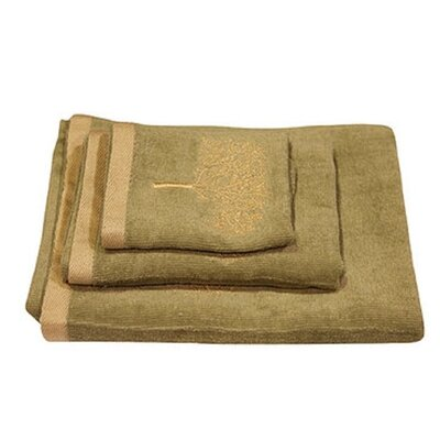 Arbor 3 Piece Towel Set Color: Sage