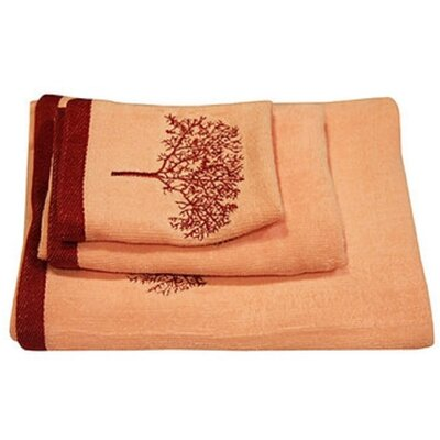 Arbor 3 Piece Towel Set Color: Pink
