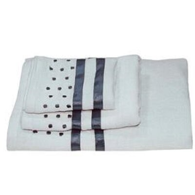 Darla Polka Dots 3 Piece Towel Set Color: Sky Blue