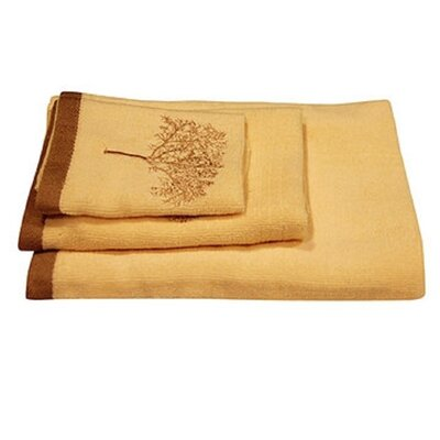 Arbor 3 Piece Towel Set Color: Ivory