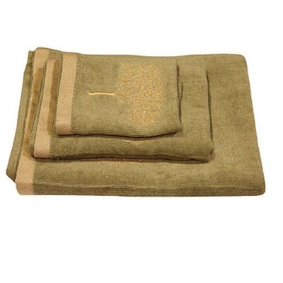 Regalia 3 Piece Towel Set Color: Sage