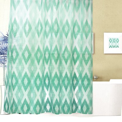 Geo Texture Shower Curtain Set